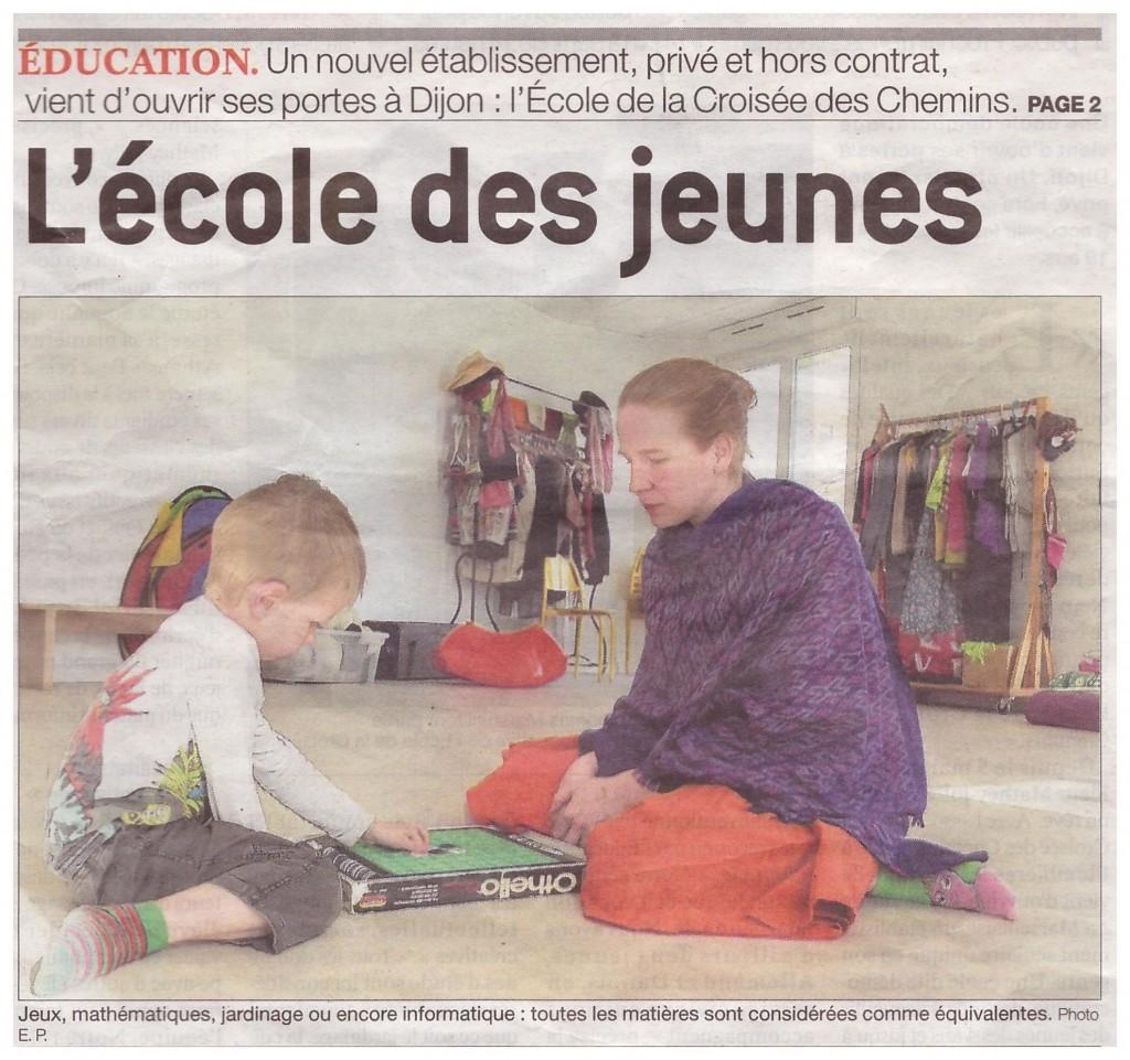 """""""L'école des jeunes"""""""